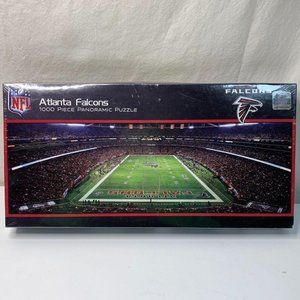 Atlanta Falcons Stadium Panoramic Jigsaw Puzzle NF